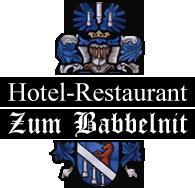"""Hotel - Restaurant """"Zum Babbelnit"""""""